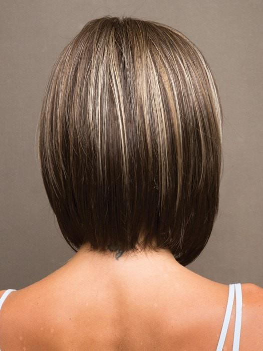 CHOCOLATE FROST | Brown Base with Honey Blonde and Platinum Highlights