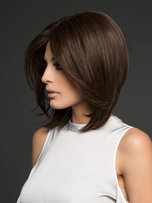 HAILEY by Noriko in GINGER BROWN | Medium Auburn and Medium Brown evenly blended