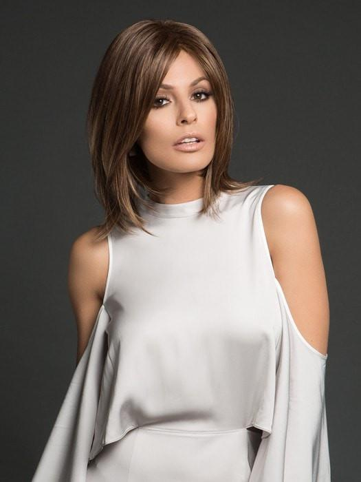 HAILEY by Noriko in MARBLE BROWN | Medium Brown and Light Honey Brown evenly blended