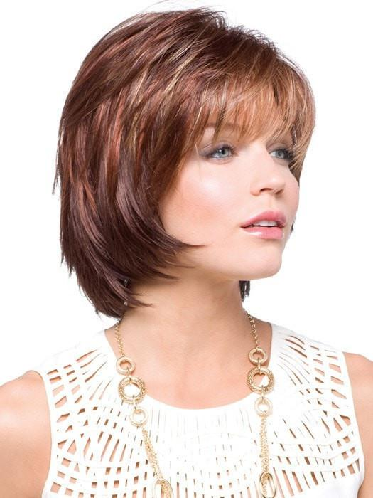 SHANNON by Rene of Paris in RAZBERRY ICE | Medium Auburn Base with Copper and Strawberry Blonde Highlights
