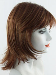 IRISH-SPICE | Medium Auburn base with Dark Honey Blonde highlights