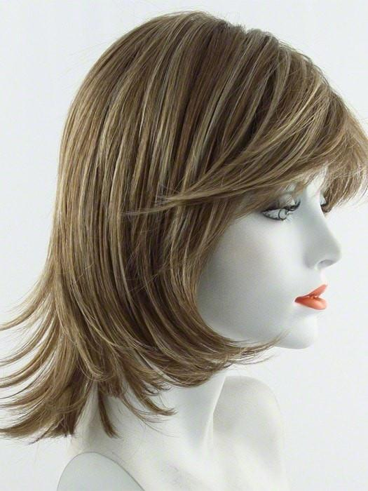 MAPLE-SUGAR |  Light Honey Brown base with Strawberry Blonde highlights