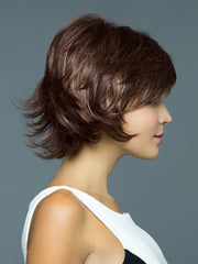 Wispy layers with flips | Color: Auburn Sugar