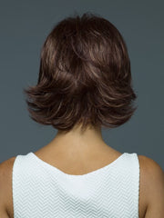 Chin length cut that's ready-to-wear | Color: Auburn Sugar