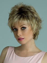 Wear it out of the box or add styling products to enhance the haircut | Color: Creamy Toffee-R