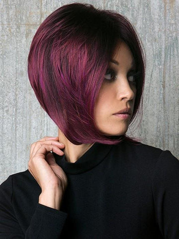 Change up your look with this fun high fashion color! | Color: Plumberry Jam LR Deep Burgundy/Violet base that melts into an iridescent Violet Red Ombre.