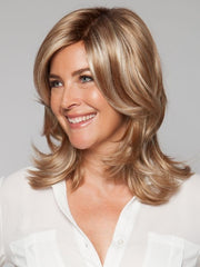The Double Monofilament top gives a scalp-like appearance | Color: Nutmeg R