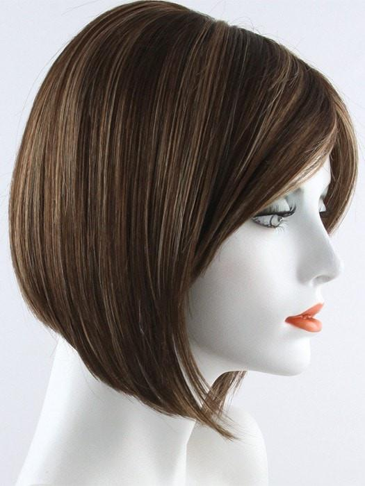 AUBURN SUGAR | Dark Auburn with Medium Auburn Base with Dark Strawberry Blonde Highlights