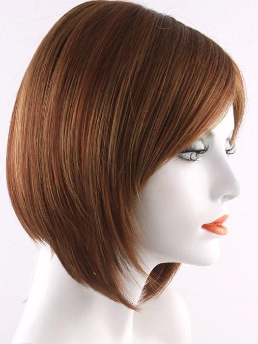 IRISH SPICE | Dark Auburn with Medium Auburn Base and Dark Honey Blonde Highlights