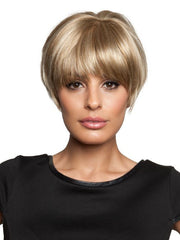 Double monofilament top creates the illusion of natural hair growth where the hair is parted, and offers styling versatility so you can change the part