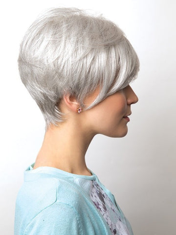 Volume at the crown | Color: Silver Mink