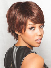 SKY by Ellen Wille in AUBURN ROOTED | Dark Auburn, Bright Copper Red, and Warm Medium Brown Blend with Dark Roots