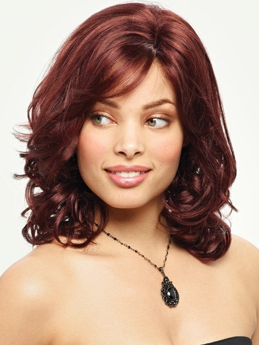Dominique color 30R-BORDEAUX- Medium Auburn