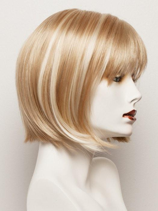 SUGAR-COOKIE | Medium Honey Blonde with Light Blonde blends and Platinum Blonde highlights