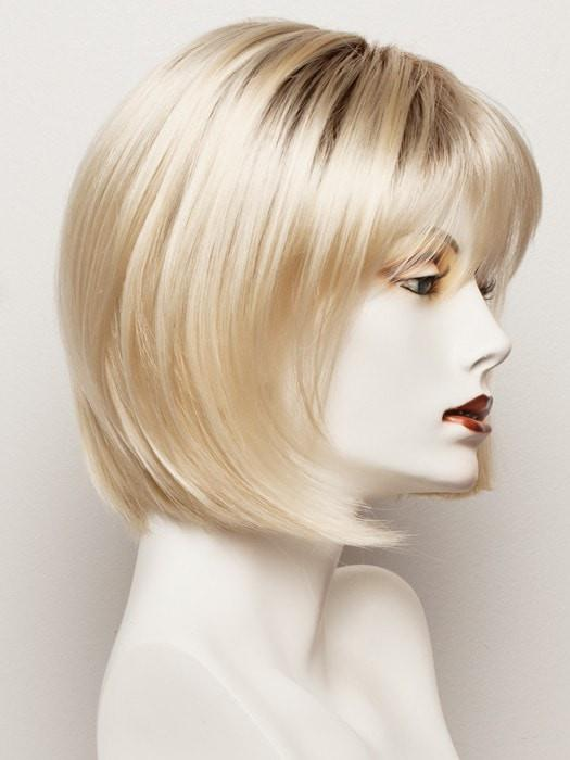 COCO-CREAM | Platinum Blonde with a Medium Brown root