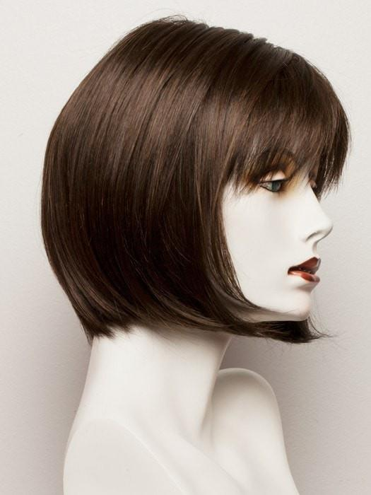 CHESTNUT | Medium Dark Brown blended with Ash Brown highlights