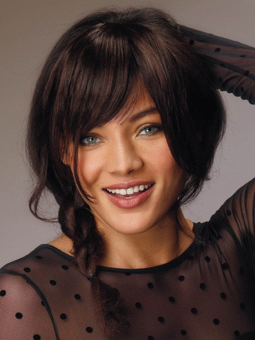 Clip Lok Bangs By Revlon Clip In Fringe Wigs The Wig Experts