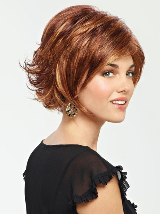 Sage by Revlon Wigs : Color 33/30R (Tomato Bisque)