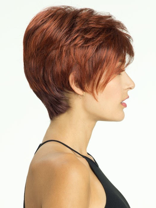 Revlon Wigs Marnie : Profile View | Color 33/32C (Cherry Cola)