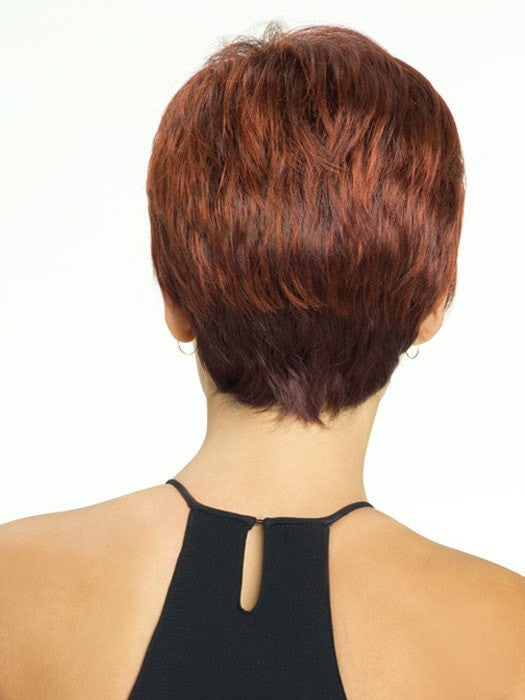 Revlon Wigs Marnie : Back View | Color 33/32C (Cherry Cola)