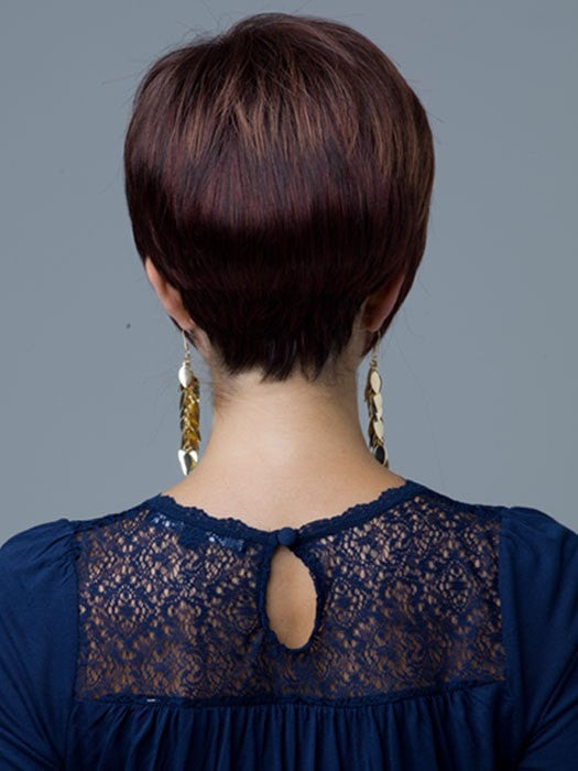 Revlon Wigs Sasha : Back View | Color 637T (Rum Raisin)