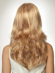 Long, loose curls flow mid-back | Color: Golden Glaze, 263R