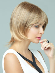Spencer by Revlon Wigs : Bob With Bangs | Color 24/18T (Buttered Toast)