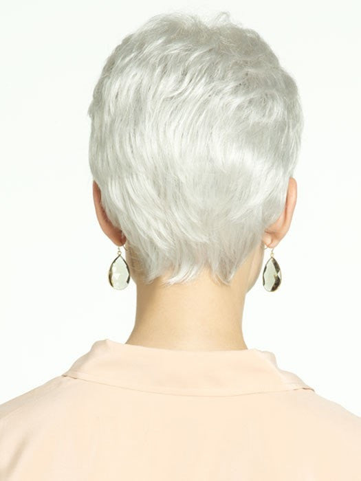 Revlon Wigs Valentina : Back View | Color 60R (Snowflake)