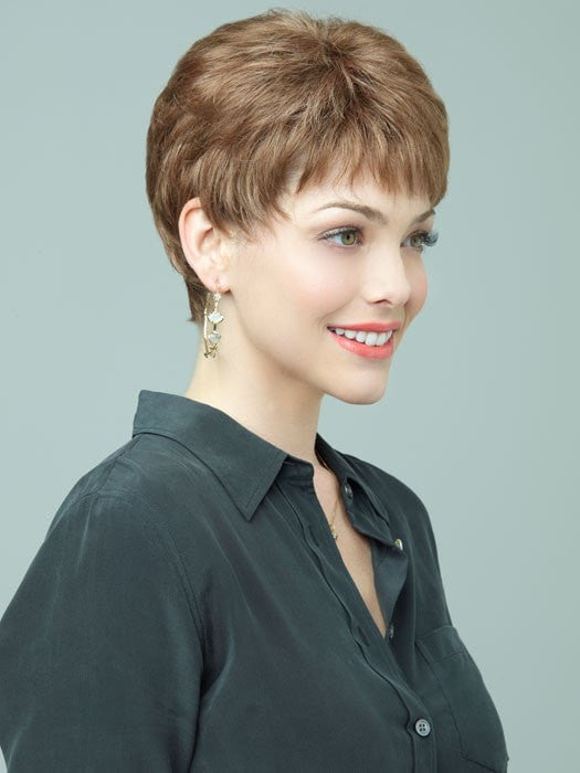 Valentina by Revlon Wigs : Monofilament Top | Color 10R (Walnut)