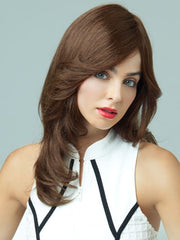 Revlon Wigs Lily Wig : 100% Human Hair | Color BROWN-SPICE