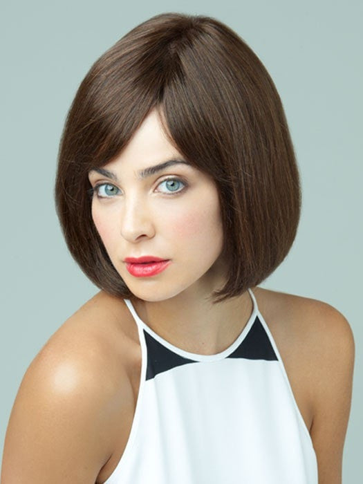 Revlon Wigs Paloma Wig : 100% Human Hair | Color DARK-CHOCOLATE
