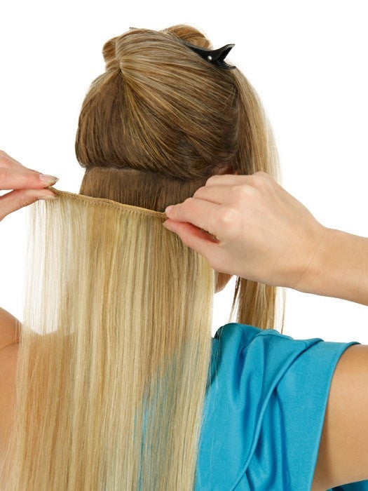Add Length & Volume with these 100% Human Hair Clip-In Extensions