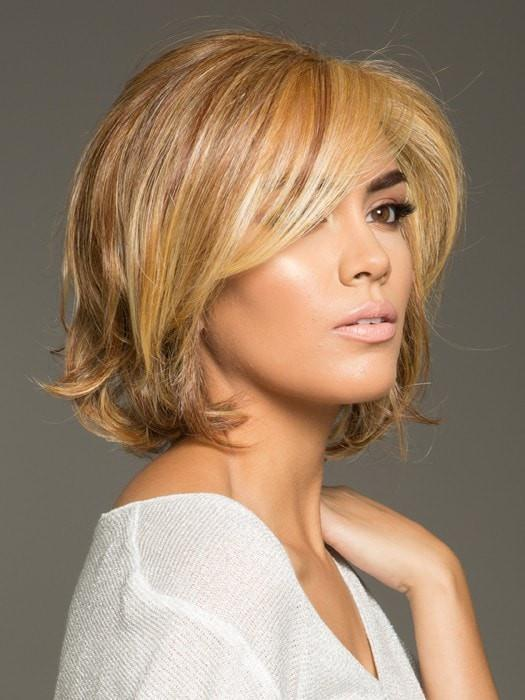 CROWED PLEASER by Raquel Welch in RL29/25 GOLDEN RUSSET | Ginger Blonde Evenly Blended with Medium Golden Blonde