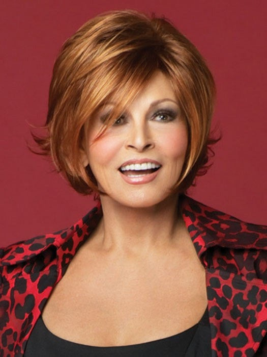 All That Jazz by Raquel Welch: Color R28S+ Glazed Fire (Fiery Red with Bright Red highlights)