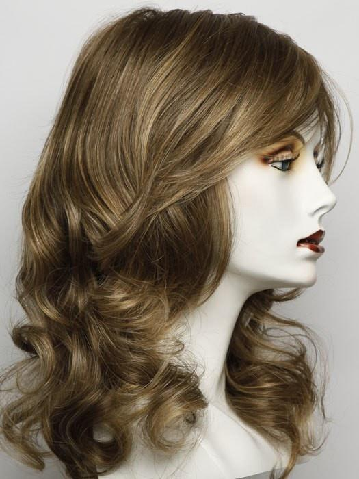 RL12/16HONEY TOAST | Light Brown Evenly Blended with Dark Natural Blonde