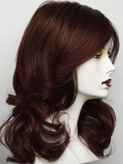 RL33/35DEEPEST RUBY |Dark Auburn Evenly Blended with Ruby Red