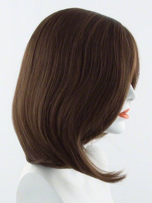 Beguile wig by raquel welch 100 human hair wigs the wig r630h chocolate copper dark medium brown evenly blended with medium auburn highlights pmusecretfo Choice Image