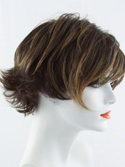 R829S GLAZED HAZELNUT | Rich Medium Brown with Ginger Highlights on Top