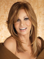 BRAVO by Raquel Welch in R3025S+ | GLAZED CINNAMON Medium Auburn with Ginger Blonde Highlights on Top