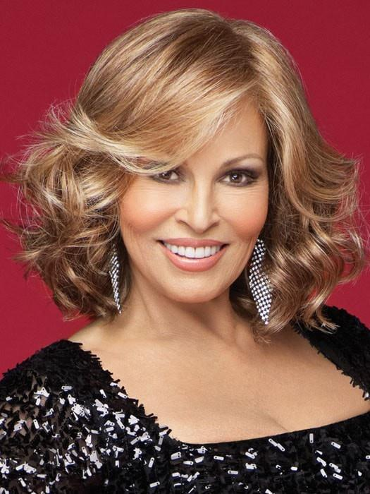 CELEBRITY by Raquel Welch in R29S+ GLAZED STRAWBERRY |  Light Red with Strawberry Blonde Highlights