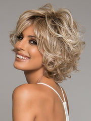 CHIC ALERT by Raquel Welch in RL19/23SS SHADED BISCUIT |  Light Ash Blonde Evenly Blended with Cool Platimun Blonde and Dark Roots
