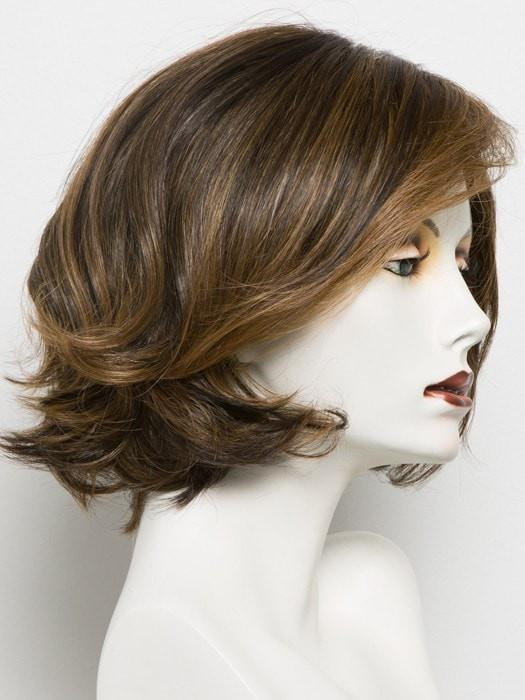 RL8/29 HAZELNUT | Warm Medium Brown Evenly Blended with Ginger Blonde