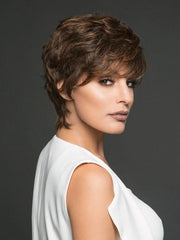 CENTER STAGE by Raquel Welch in R6/30H COPPER MAHOGANY | Dark brown with soft copper highlights