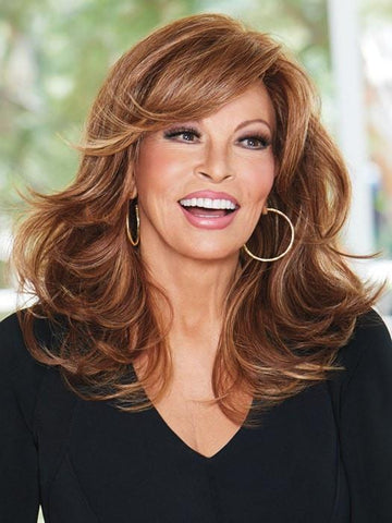 CURVE APPEAL by Raquel Welch in RL30/27 RUSTY AUBURN | Medium Auburn Evenly Blended with Strawberry Blonde