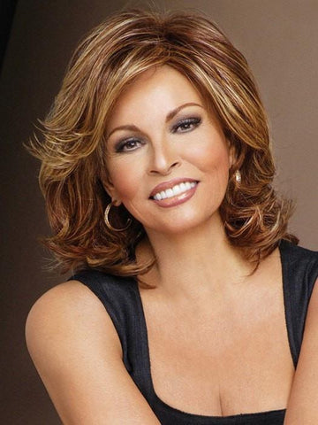 EMBRACE by Raquel Welch in RL31/32 FIEREY COPPER | Medium Light Auburn Evenly Blended with Ginger Blonde
