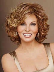 EMBRACE by Raquel Welch RL31/32 FIEREY COPPER| Medium Light Auburn Evenly Blended with Ginger Blonde