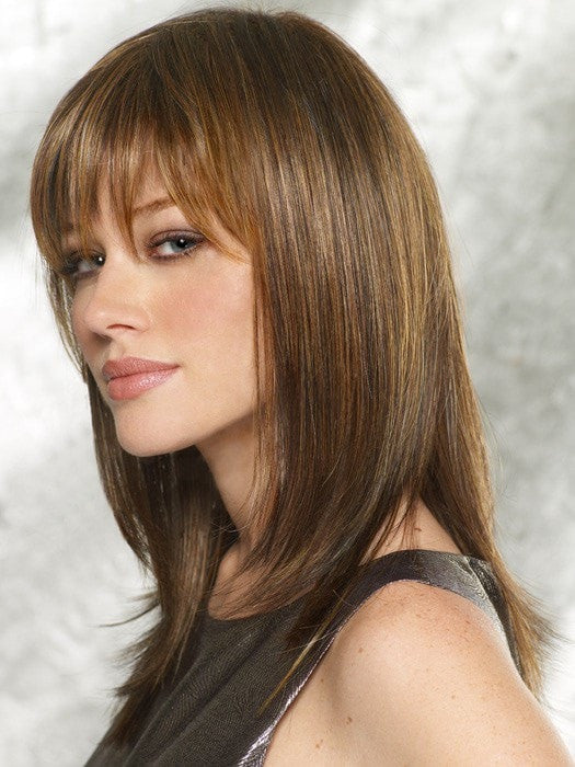 Color R829S+ Glazed Hazelnut (Medium Brown with Ginger highlights)