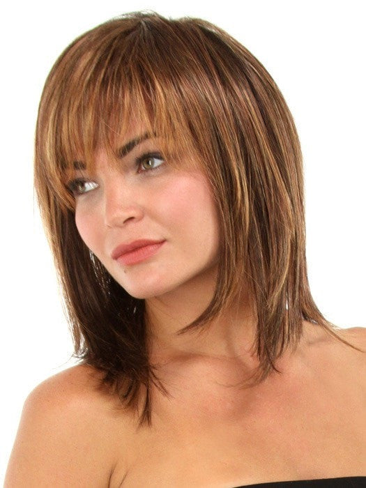 Color R3329S+ Glazed Auburn (Rich Dark Reddish Brown with Pale Peach Blonde highlights)