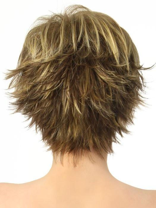 A flirty razored cut is easy to style and ready to wear