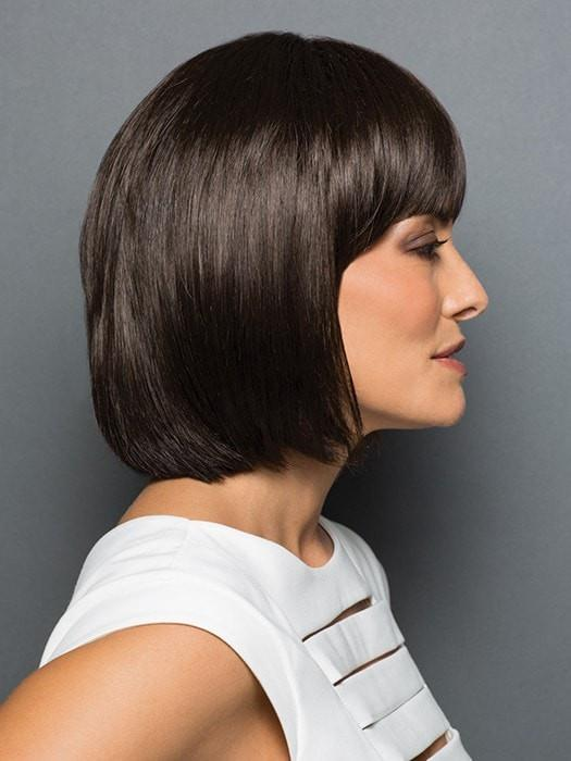 Fashionable bangs seamlessly, without the commitment of cutting your hair | Color: R6